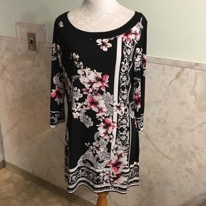 White House Black Market Slip On Dress L